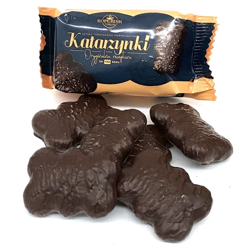 Kopernik Katarzynki Box Chocolate Covered Gingerbread Cakes