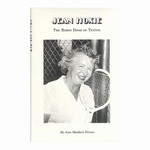 The story of Jean Hoxie cannot go untold. Within the following pages, you will experience a woman who dedicated a good portion of her life to bring out the champion in ordinary kids through tennis.