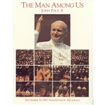 Published by The Hamtramck Citizen newspaper on the occasion of John Paul II's visit to Hamtramck, Michigan on September 19,1987.  This full color album features highlights of the Pope in Hamtramck as well as a collection of photos of his previous travels
