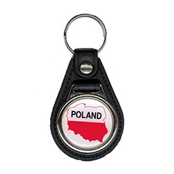 Poland / Map Keychain