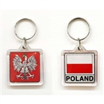 Poland / Polish Flag/ Polish Eagle Key Chain