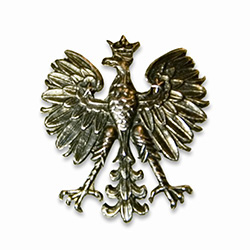 Polish Eagle Pin Lapel Pin