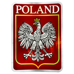 Poland (Red Metalic )