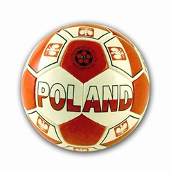 This is more than just a soccer ball...it is a show piece.