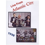Live From Atlantic City - 1998 by Big Daddy Lackowski and the La Dee Das DVD