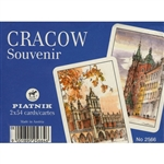 Box Playing Cards Sets, 2 Cracow Decks