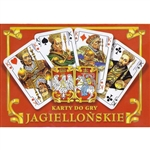 Made in Krakow by Poland's finest card maker - Trefl.  This two deck set features royalty from Poland's historic Jagiellonian dynasty, founders of Poland's oldest university in Krakow.  The back side of the card features The Polish Eagle and The...