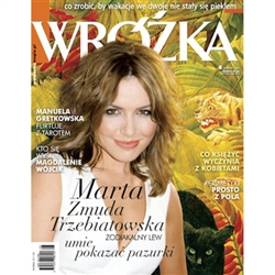 Polish language monthly for women.   Articles about health, cosmetics, fitness, horoscopes, history, menus and recipes.