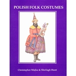 Polish Folk Costumes highlights over twenty of the most interesting and colorful folk costumes of Poland. Each of the beautiful and detailed illustrations is accompanied by an account which illuminates its historical and cultural origins.