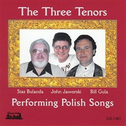Stas Bulanda, John Jaworski and Bill Gula sing some old Polish-American favorites.