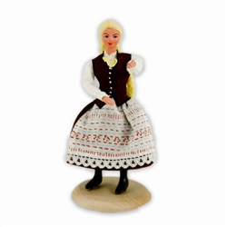 Polish Regional Doll: Warmianka