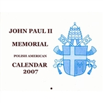 John Paul II Polish American Calendar 2007 By Donald Samull