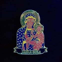 Our Lady Of Czestochowa - Jasna Gora - Small Magnet