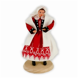 Polish Regional Doll: Dabrowianka Woman
