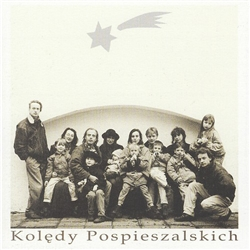 Koledy Pospieszalskich is a collection of 9 traditional Polish Christmas carols performed by the Pospieszalski family and their guests.  The music is sung and played played in a jazzy style.