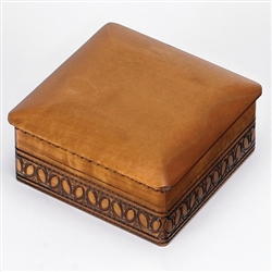 Curved Box with side carvings