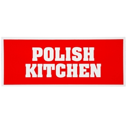 Rectangular Magnet - Polish Kitchen