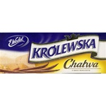 Chalwa from Poland's best known candy company - E. Wedel.  The English spelling is Halvah: one of the earliest recorded sweets made from crushed sesame seeds originated in Turkey and dates as far back as 3000 B.C.