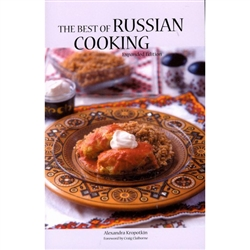 "From zavtrak (breakfast) to uzhin (dinner), Russians love to eat heartily.  Originally published in 1947, ""The Best of Russian Cooking"" is a treasured classic that combines authentic Russian recipes with culinary tips and invaluable cultural insights."