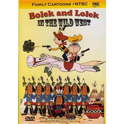 DVD: Bolek and Lolek in the Wild West