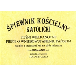 Catholic Church Old Polish Hymnal - Easter and Ascension Hymns