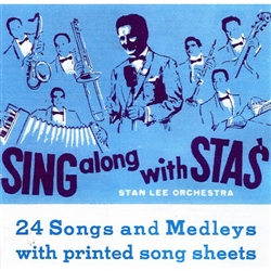 24 Favorite Old Songs and Medleys with printed song sheets for all the words in Polish. You will recognize many of these as old village songs from Poland