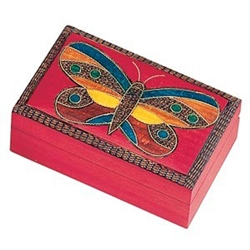 Butterfly Wooden Box