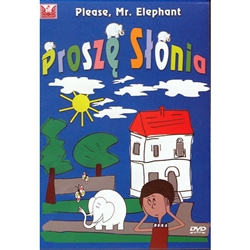 A very popular Polish TV program. The story of a young elephant living with a family as a household pet. IN POLISH. DVD recommended for Polish language training for children.