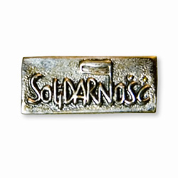 Made in the workshop of Warsaw's finest engraver and medal maker.  Solidarnosc was the worker's movement headed by Lech Walesa that defied the Polish Communist government in the 1980's and lead to the country's peaceful transition to freedom.