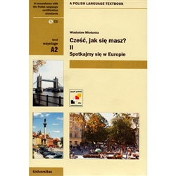 It is the first communicative textbook of Polish for beginners. It is composed of 14 lessons. Each lesson contains dialogs in Polish with a Polish-English dictionary, a lexical table, grammar and communicative exercises in English, as well as grammatical