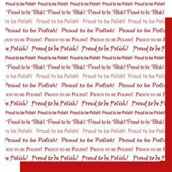Polish Scrapbook Paper will make for a very Polish background for any memorabilia in a scrapbook of a trip, childhood or event!  All papers are premium archival card stock, acid free and lignin free.  Made in USA. Proud to be Polish.