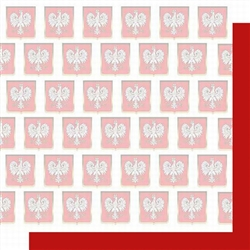 Polish Scrapbook Paper - Eagle Crest Scrapbook Layout Pack