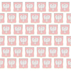 Polish Scrapbook Paper - Eagle Crest
