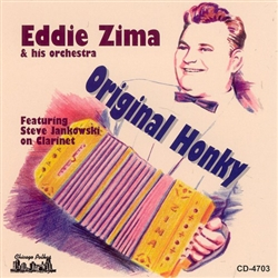 Eddie Zima was born in 1923 in Chicago and began playing the concertina when he was 6 years old.  His mother, Eleanor, upon noticing his eagerness and ability to play, signed him up for lessons.