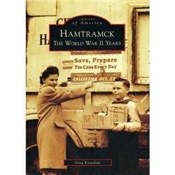 Hamtramck: The World War II Years presents a portrait of the city at war. It tells and shows how Hamtramckans coped in a challenging time that demanded strength, dedication, and sacrifice. Hamtramckans stood up and delivered all that was required—and more