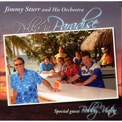 "Fifteen-time Grammy Award winner Jimmy Sturr returns with ""Polka in Paradise"", a classic, straight-ahead Polka album featuring great melodies, toe-tapping rhythms, and the unparalleled musicianship of The Jimmy Sturr"