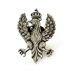 Polish Eagle Lapel Pin