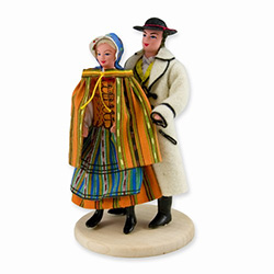Opoczno Couple Doll - Polish Regional Doll