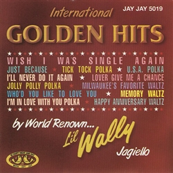 International Golden Hits by Li'l Wally Jagiello