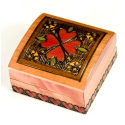 Wooden Box with Curved top