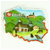 Pride Of Poland - Countryside Panorama Magnet