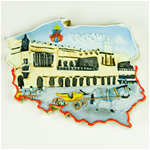 Pride of Poland - Krakow's Cloth Hall Magnet