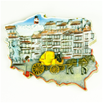 Pride of Poland - Warsaw Old Town Magnet
