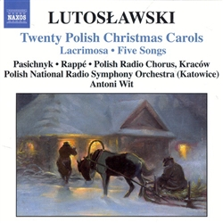 "Assembled in 1946 from texts and melodies that had been collected during the nineteenth century, ""Twenty Polish Carols"" is one of Lutoslawski's most substantial and most attractive vocal collections.  The carols comprise a musical sequence as substantial"