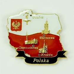 Polska - City Monuments Magnet