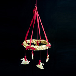 Christmas Hanging Mobile - Baba Yaga - Polish Witches