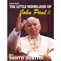 A beautiful tribute the John Paul II and the town of Wadowice where he grew up.  This is a full color album that includes photos of Karol Wojtyla's home town, places near and dear to him, personal and family memorabilia as well as coverage of his return v