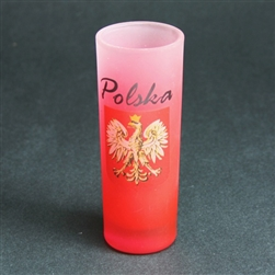 Made in Poland this handsome Polish Eagle shot glass will look great on the bar or in the curio cabinet.