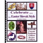 """Easter Slovak Style"" is a compendium of slovak customs, traditions, folklore, recipies, and folkarts of the region.  It helps celebrate the priceless treasures of Easters past, and is an inspiration for Easters of the future. 34 pages."