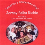 Jersey Polka Richie - Live Concertina Jam Session